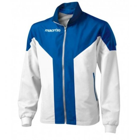 Macron Tanatos Tracksuit Jacket (white-blue)
