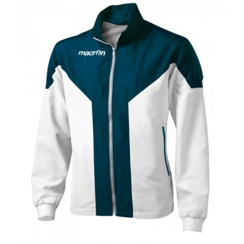 Macron Tanatos Tracksuit Jacket (white-navy)