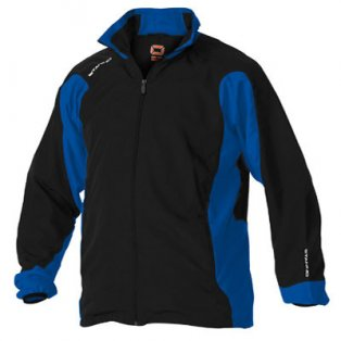 Stanno Santos Full Zip Micro Top (black-blue)