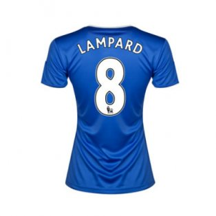 2013-14 Chelsea Ladies Home Shirt (Lampard 8)