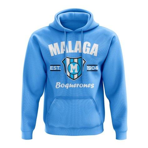 Malaga Established Hoody (Sky)