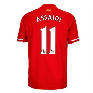 2013-14 Liverpool Home Shirt (Assaidi 11) - Kids