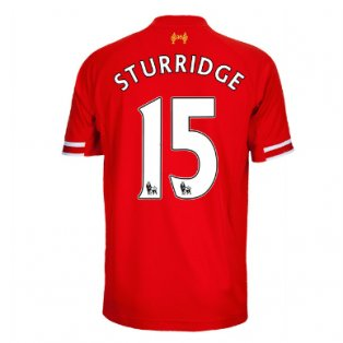 2013-14 Liverpool Home Shirt (Sturridge 15) - Kids