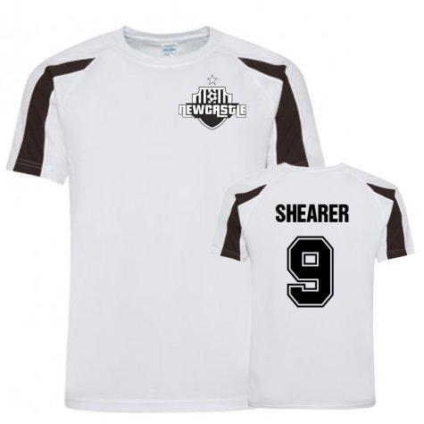 Alan Shearer Newcastle Sports Training Jersey (White)