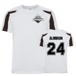 Miguel Almiron Newcastle Sports Training Jersey (White