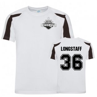 Sean Longstaff Newcastle Sports Training Jersey (White