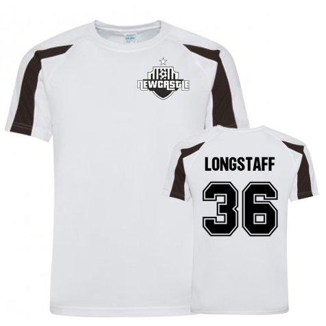 Sean Longstaff Newcastle Sports Training Jersey (White