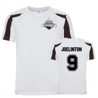 Joelinton Newcastle Sports Training Jersey (White