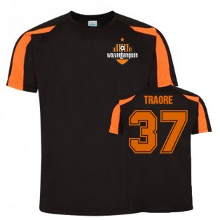 Adama Traore Wolves Sports Training Jersey (Black)