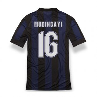 2013-14 Inter Milan Home Shirt (Mudingayi 16) - Kids