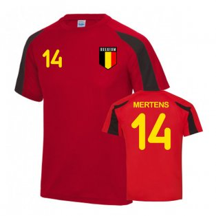 Belgium Sports Training Jersey (Mertens 14)