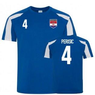 Croatia Sports Training Jersey (Perisic 4)