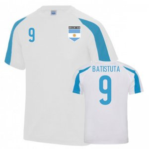 Argentina Sports Training Jersey (Batistuta 9)
