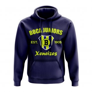 Boca Juniors Established Hoody (Navy)