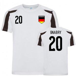 Germany Sports Training Jersey (Gnabry 20)