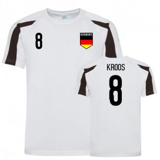 Germany Sports Training Jersey (Kroos 8)