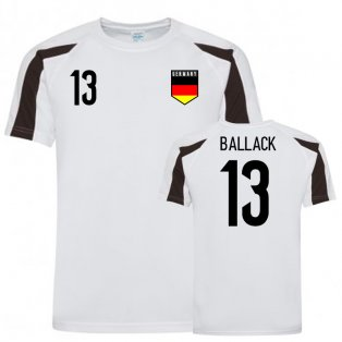 Germany Sports Training Jersey (Ballack 13)