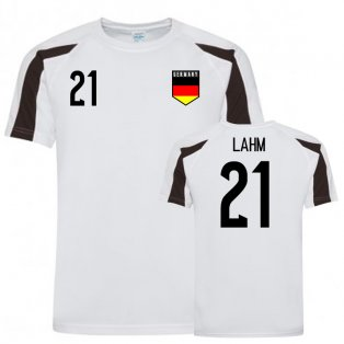 Germany Sports Training Jersey (Lahm 21)