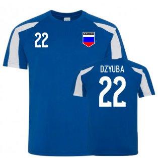 Russia Sports Training Jersey (Dzyuba 22)