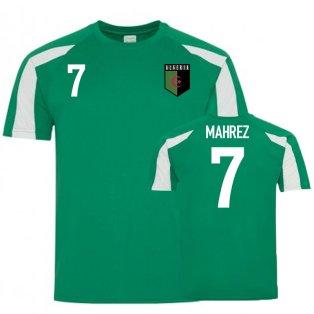Algeria Sports Training Jersey (Mahrez 7)