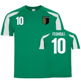 Algeria Sports Training Jersey (Feghouli 10)