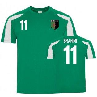 Algeria Sports Training Jersey (Brahimi 11)