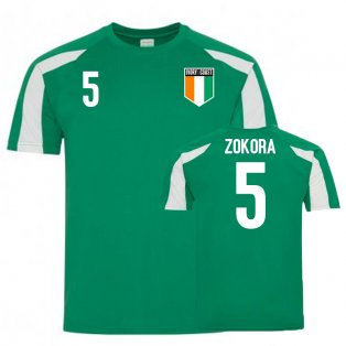 Ivory Coast Sports Training Jersey (Zokora 5)