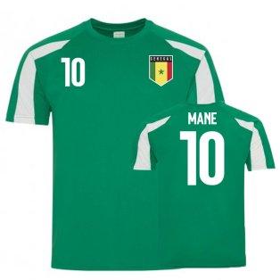 Senegal Sports Training Jerseys (Mane 10)