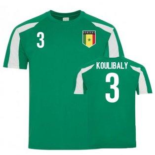 Senegal Sports Training Jerseys (Koulibaly 3)