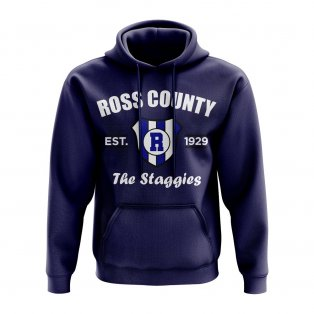Ross County Established Hoody (Navy)