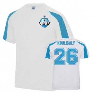 Koulibaly Napoli Sports Training Jersey (White)