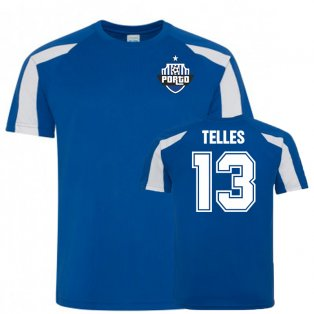 Alex Telles Porto Sports Training Jersey (Blue)