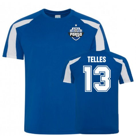 Alex Telles Porto Sports Training Jersey (Blue)