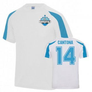 Eric Cantona Sports Training jersey (White)
