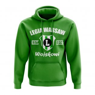 Legia Warsaw Established Hoody (Green)