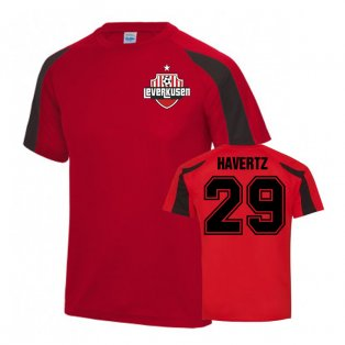 Kai Havertz Bayer Leverkusen Sports Training jersey (Red)