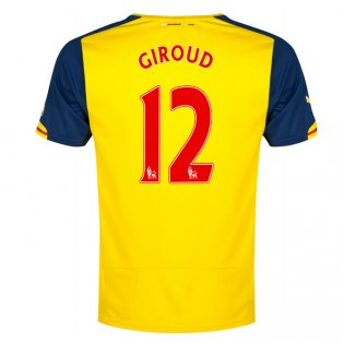 2014-15 Arsenal Away Shirt (Giroud 12)