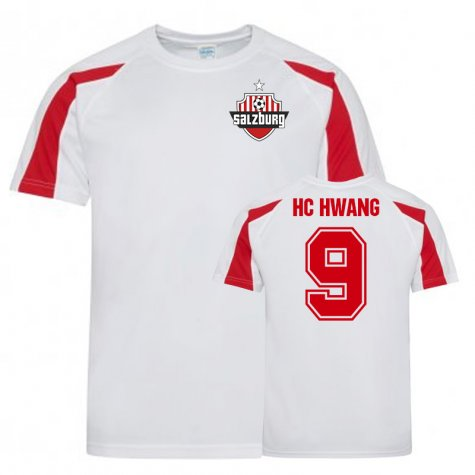 Hwang Hee-Chan FC Red Bull Salzburg Sports Training Jersey (White)