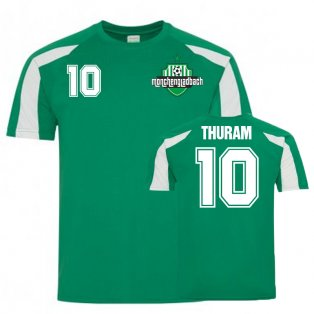 Marcus Thuram Borussia Monchengladbach Sports Training Jersey (Green)