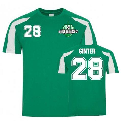 Matthius Ginter Borussia Monchengladbach Sports Training Jersey (Green)