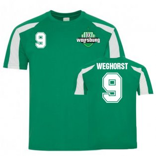 Wout Weghorst VfL Wolfsburg Sports Training Jersey (Green)