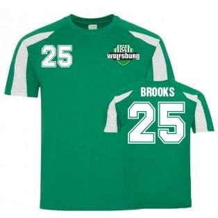 John Brooks VfL Wolfsburg Sports Training Jersey (Green)