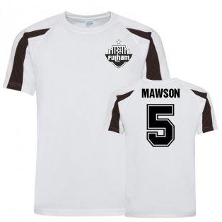 Alfie Mawson Fulham FC Sports Training Jersey (White)
