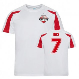 Tom Ince Stoke City Sports Training Jersey (White)