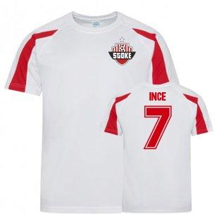 Tom Ince Stoke City Sports Training Jersey (White)