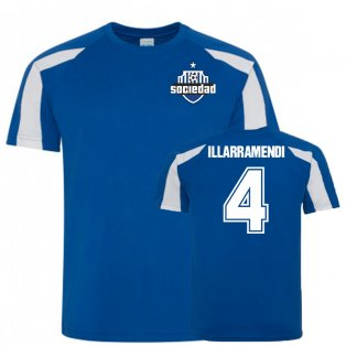 Asier Illarramendi Real Sociedad Sports Training Jersey (Blue)