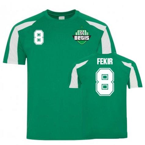 Nabil Fekir Real Betis Sports Training Jersey (Green)