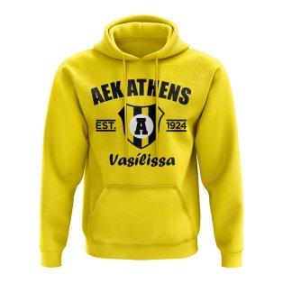 AEK Athens Established Hoody (Yellow)