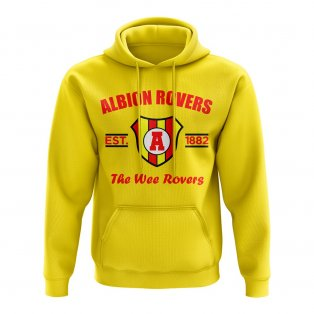 Albion Rovers Established Hoody (Yellow)