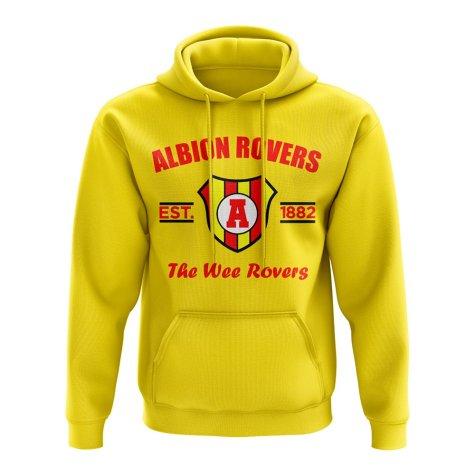 Albion Rovers Established Hoody (Yellow)
